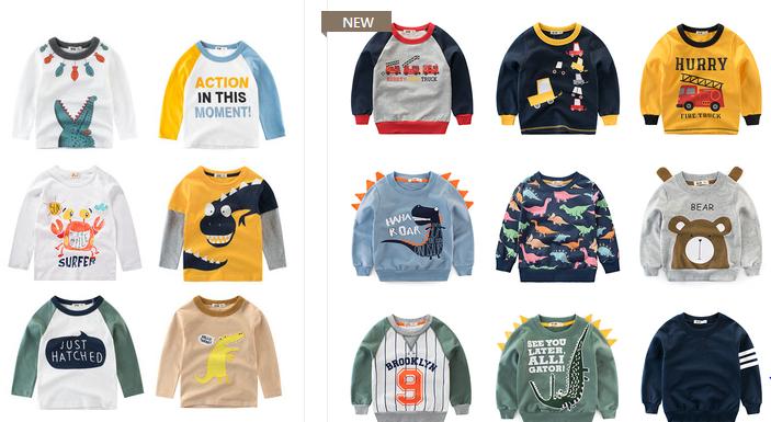 5 хороших магазинов детской одежды на Таобао